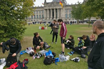 Daniel Nielsen's First Marathon, Berlin