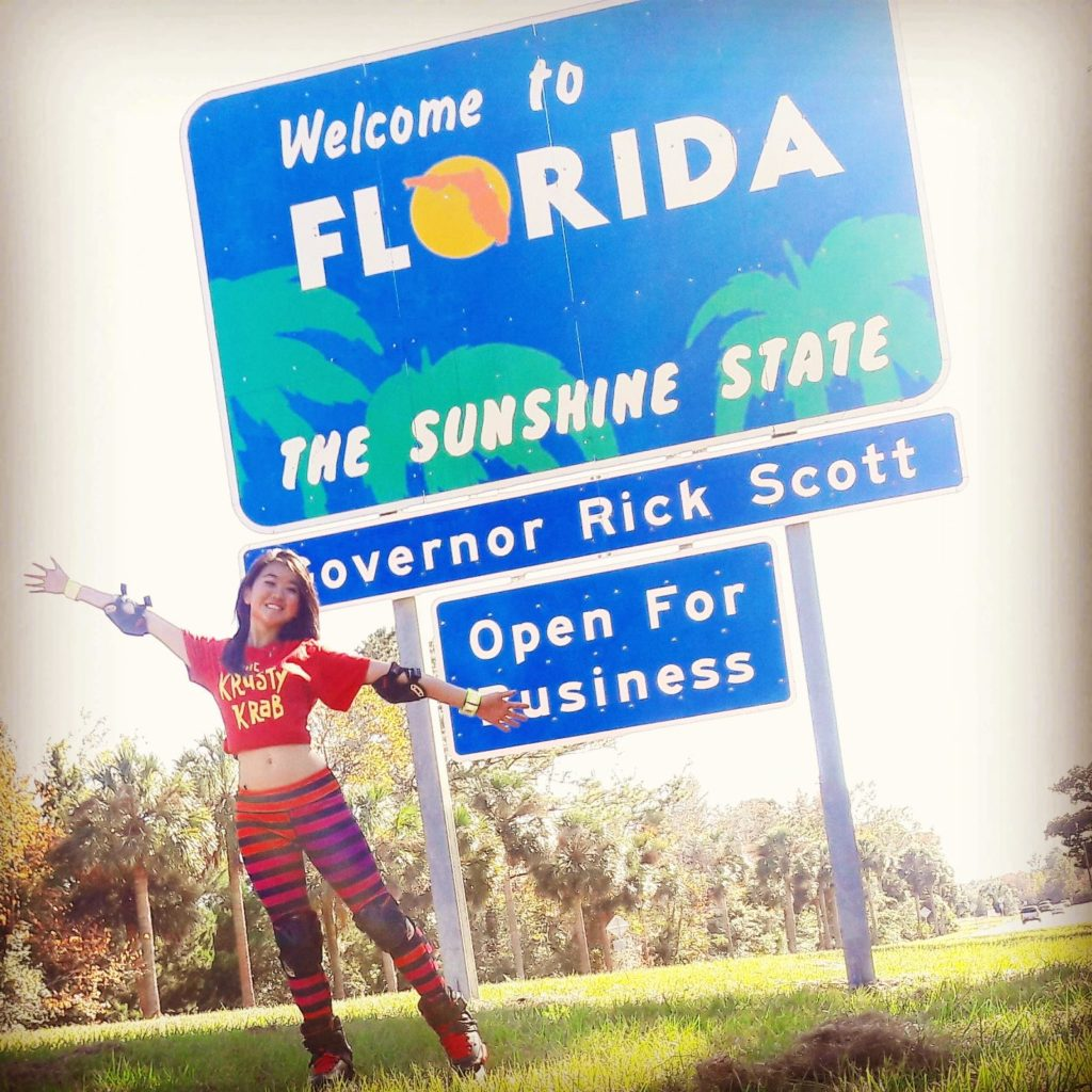 Yanise Ho made in to Florida.