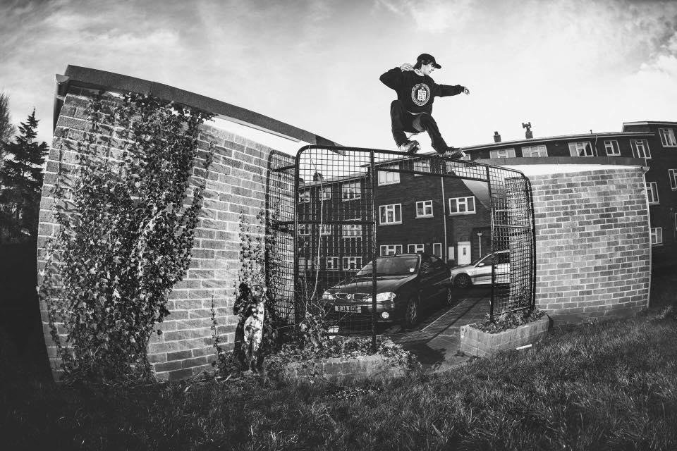 Alex Burston lacing a burly royale. Photo by Sam Cooper.