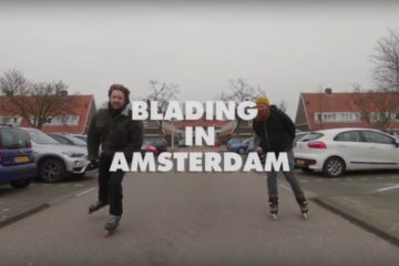 Big Wheel Blading in Amsterdam, The Netherlands