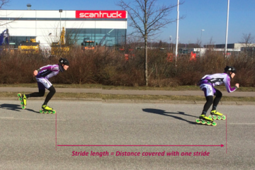 sk8skoolonline.com: Stride Length vs Stroke Length