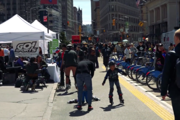 oneblademag.com: Go! Sports x Car Free NYC – Making Bladers in Manhattan