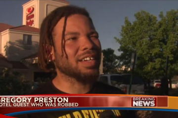 Gregory Preston Pistol-Whipped  During Robbery at Denver Hotel