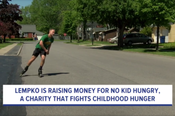 wkbw.com: Amherst Man Plans To Rollerblade Across Country For Charity