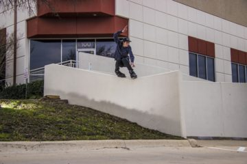 Andrew Broom VOD – Shredding in Austin, Texas by Anthony Medina