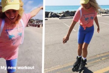 theinertia.com: San Clemente Pro Surfer Malia Ward Is Bringing Rollerblading Back!