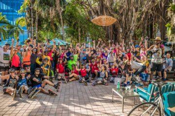 Skater Migration 2018: Social Rollerblading in Miami, Florida