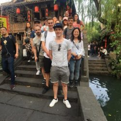 Getting a tour of Chengdu