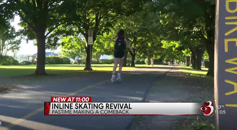 Inline Skating Making a Comeback