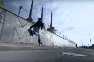 FR SKATES Featuring Antony Pottier Freeskating in Barcelona, Spain