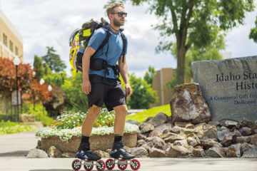 idahostatejournal.com: Man Rollerblading Across Country to Fulfill Dream