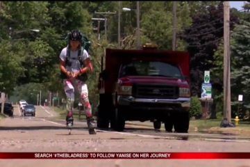 yourerie.com: 23-Year-Old Girl Plans to Rollerblade 4,000 Miles to Raise Money for Girls' Education