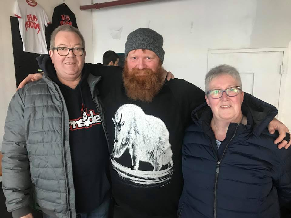 Meeting Edwin's parents at Winterclash this year was one of the highlights of my trip.