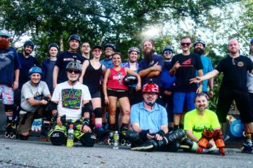 A Trip to Boston for the Rollerblade 10K Challenge and Tuesday Night City Skate