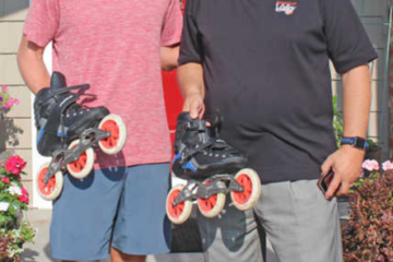marshallnews.com: Mike Lempko Rollerblades Coast to Coast for 'No Kid Hungry'