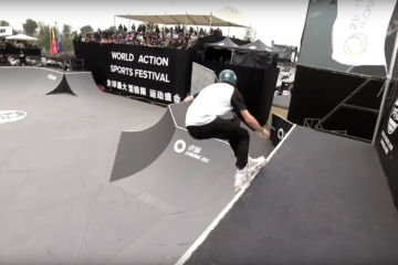Diako Diaby and Chihiro Azuma Win FISE World Series in Chengdu, China