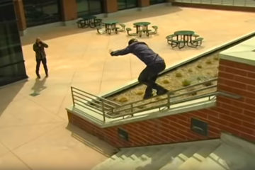 Hazen Bell Skating on Oysi Frames in Salt Lake City