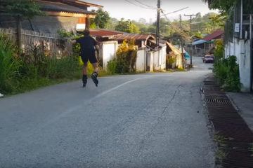Jelle Briggeman Skating the Streets of Thailand