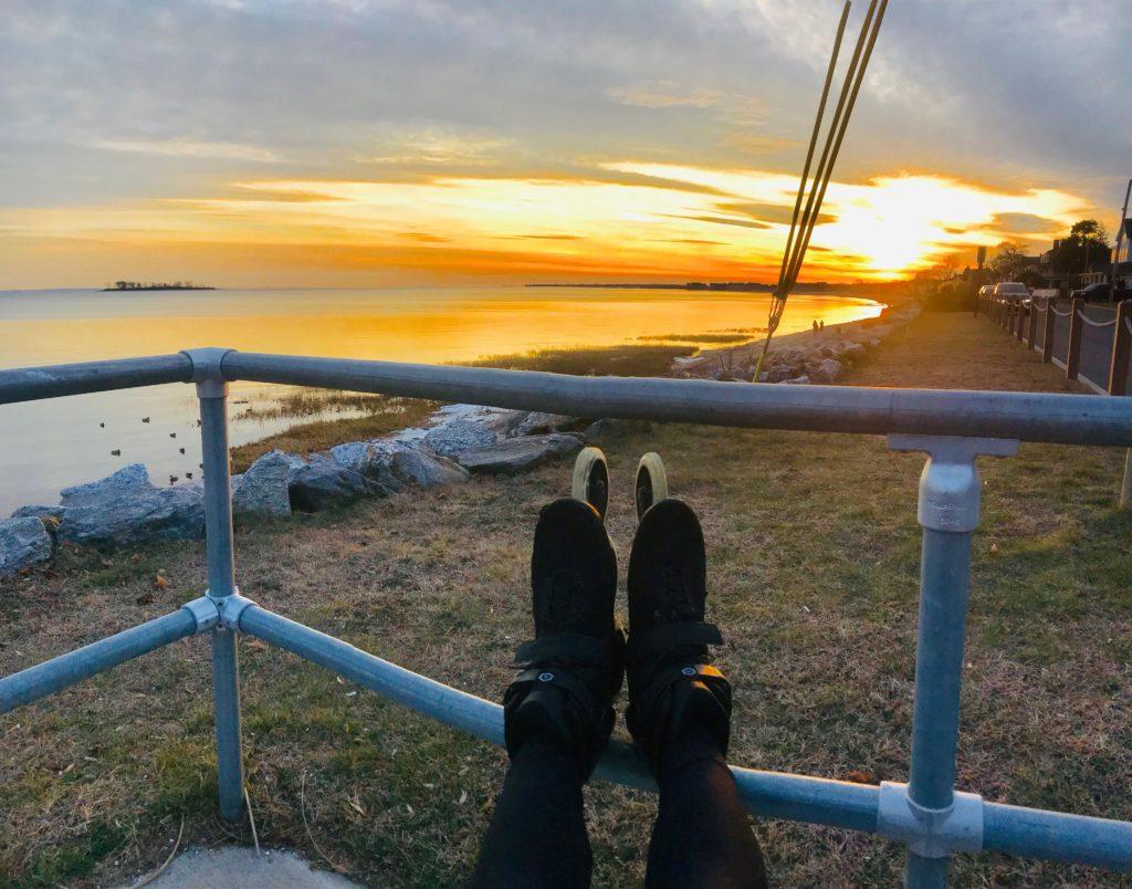 Milford Beach Daily Skate Route