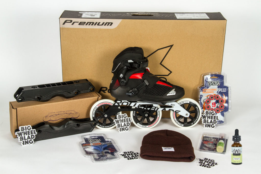 1st Place Prize Package Won by Rob Dargiewicz with 2364.52 Miles.