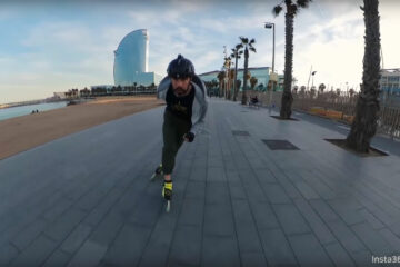 Pascal Briand Freeskating Barcelona