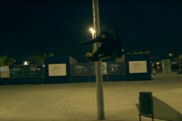 NEXT Black Night – Nick Lomax on Powerslide Next 80 skates