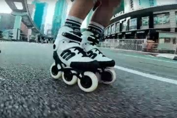 Testing Prototype Micro Skates at the Kuala Lumpur Car Free Day