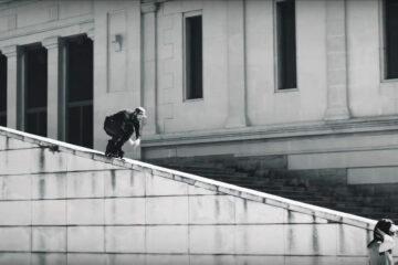 FSK: Mathias von Gostømski and Danny Aldridge Freeskating in Barcelona