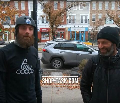 Flow Skate Competition: Leon Basin vs. Shaun Unwin