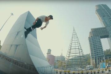 "Worapoj ""Note"" Boonnim Skating the USD Aeon"